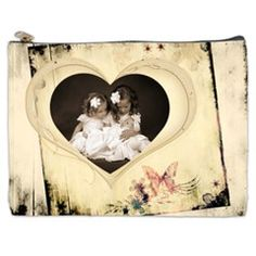 Child of my Heart Cosmetics Bag Free Template