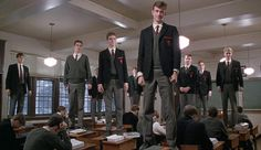 In the final scene of 'Dead Poets Society,' Mr. Keating comes back to his classroom, which has now been taken over by Headmaster Dr. Nolan, to gather some of his last belongings. Even in the wake of Neil Perry's suicide, Keating's ex-students show their respect and allegiance for their former teacher and inspiration for their Dead Poets Society. Breaking with his shy ways, Todd calls out 'O Captain! My Captain!' and stands on his desk. The rest of the class follows and climbs up with him…