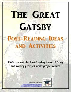 the great gatsby exam essay questions