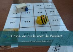 Kraak de code met de Beebot – Miranda Wedekind Onderwijsbegeleiding Primary School, Elementary Schools, Computational Thinking, Bee, Classroom, Education, Math, Teaching, Google