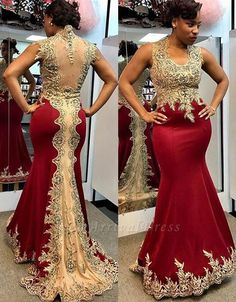 burgundy prom dresses 2020 lace appliques pearls beading crystal mermaid sheer back satin floor length long evening dresses gowns African Bridesmaid Dresses, African Wedding Attire, African Lace Dresses, Latest African Fashion Dresses, African Attire, Dress Plus Size, Plus Size Prom Dresses, Mermaid Evening Dresses, Formal Evening Dresses