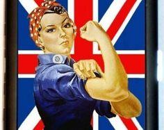 Gender Roles, Rosie The Riveter, Union Jack, Punk Rock, Feminism, Ronald Mcdonald, Mario, British, Trending Outfits