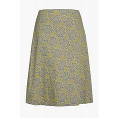 Seasalt Womens Portfolio Skirt in Smiling Skies Steel 8: Amazon.co.uk: Clothing