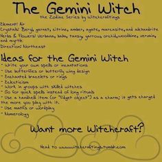 Gemini witch