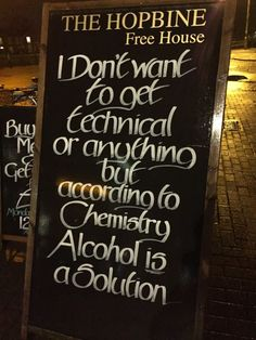 This sleek AF sign outside of a pub: | 21 Glorious Pieces Of Handwriting In The Most Unusual Places