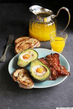 Eggs in an avocado nest are the easiest 2-ingredient breakfast