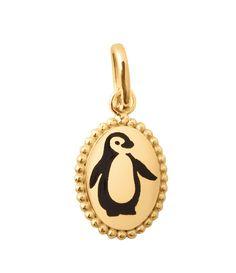 Penguin Mère et bébé cabochon verre Tibet Argent Médaillon Collier Pendentif