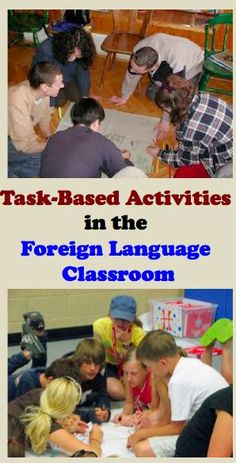 Activities in the Foreign Language Classroom Task-Based Activities in the Foreign (World) Language Classroom (French, Spanish) wlteacher.Task-Based Activities in the Foreign (World) Language Classroom (French, Spanish) wlteacher. Teaching French, Teaching Spanish, Teaching English, French Teacher, Spanish Teacher, Foreign Language Teaching, French Language Learning, Spanish Language, Japanese Language