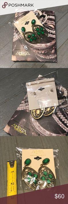 Amrita Singh evergreen gold statement earrings Amrita Singh evergreen & gold oval statement earrings. Shopping bag included Amrita Singh Jewelry Earrings