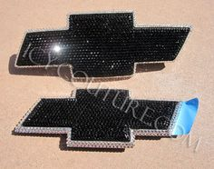 Bling Chevy Bowtie. I need this on my truck!