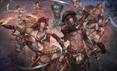 Pirates Promo - Characters & Art - Conquer Online