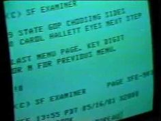 2 min. video from 1981 -- primitive Internet report on KRON -- it's mindboggling to think how far we've come in such a short time!