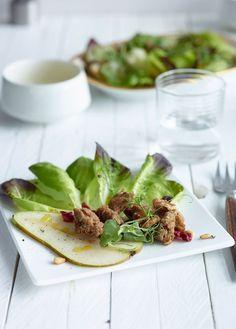 Pear & Cranberry salad