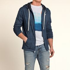 Lui - T-shirt con Cappuccio e Motivo | Lui - Saldi | eu.HollisterCo.com