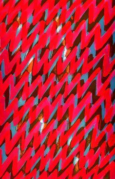 Red Zigs - Sarah Bagshaw