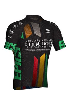 IMBA Epic Ride Men's Cycling Jersey  - USA Made Cycling Apparel - satisfaction guaranteed.  Shop our online store and get free shipping and no hassle returns and exchanges.