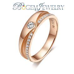 Matal Type: 9K/14K/18K Center Stone: Natural Diamonds descrition: Brilliant Diamonds Couple Ring for Love Male Ring: Center Diamonds :0.14ct