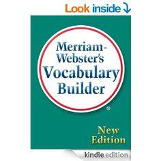 Amazon.com: Merriam-Webster's Vocabulary Builder eBook: Merriam-Webster: Kindle Store