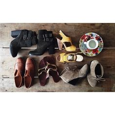 Fall Shoes! oxfords, flats, boots, booties, sandals, heels, wedges