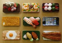 iPhone Cases...For sushi enthusiasts. Or 3D artists. Or people who like looking at fake food...