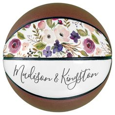 Shop Couples Wedding Engagement Flowers Names Basketball created by Nicheandnest. Basketball Couples, Basketball Wedding, Basketball Gifts, Wedding Couples, Wedding Engagement, Wedding Gifts, Wedding Color Schemes, Wedding Colors, Flower Names