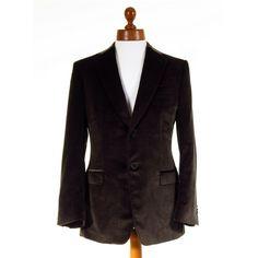 Luxury Emernegildo Z Zegna mens brown velvet jacket 40R