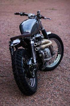 Custom Triumph Bonneville Beauty