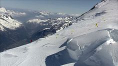 Speed Riding Mont Blanc by Didier Lafond - France, 2008, 10 minutes  Directed and produced by Didier Lafond  Production company: Vision Films     Six speed riders fly from the upper slopes of Mont Blanc down to Chamonix in one continuous 10-minute shot, filmed in Cineflex.