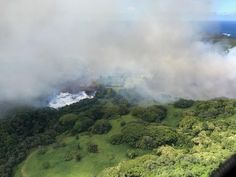 Hawaii's largest freshwater lake is gone. Lava from Fissure 8 boiled away Green Lake, a source of freshwater for the Big Island, in about five hours. A white plume of steam resulted, and lava has … Hawaii Volcano, Lava Flow, Green Lake, Lake Water, Big Island Hawaii, Science And Nature, Earth Science, Natural Wonders, Argentina