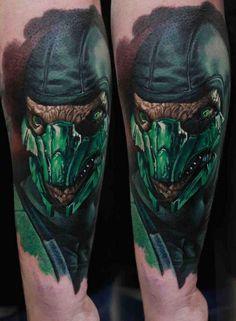 Reptilien Tattoo, : 50 Iguana Tattoo Designs For Men - Reptile Ink Ideas Iguana Tattoo, Lizard Tattoo, Body Tattoos, Tatoos, Game Tattoos, Color Tattoos, Reptiles, Mortal Kombat Tattoo, Tattoo Mama