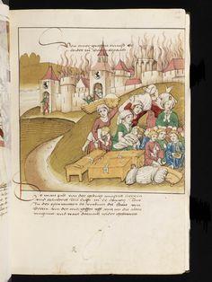 Bern, Burgerbibliothek, Mss.h.h.I.16, f. 111 – Diebold Schilling, Spiezer Chronik
