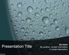 Liquid PowerPoint Template PPT Template