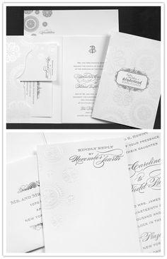 so elegant and lovely #envelope #design #invitation