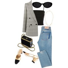 travel outfit Travel Outfit Jeans P - Outfit Jeans, Classic Outfits, Cute Casual Outfits, Stylish Outfits, Stylish Clothes, Mode Outfits, Jean Outfits, Fashion Outfits, Fashion Tips