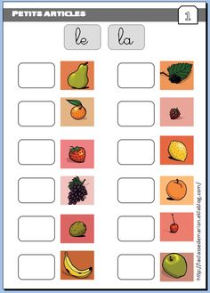 French Verbs Presents Referral: 2352083120 French Flashcards, French Worksheets, French Teacher, Teaching French, French Education, Kids Education, French Articles, French Kids, French Grammar