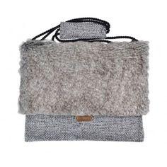 """Lola Victoria Design - etui torba laptop 13"""" SILVER CHINCHILLA - PolscyProjektanci.com"""