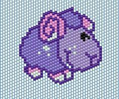 Brick stitch Lamb