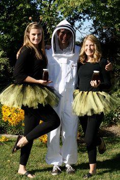 Beekeeper and Queen Bees costumes