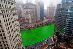 Chicago on St. Patrick's Day