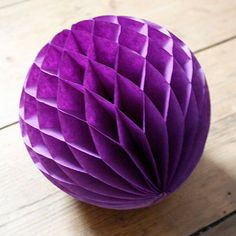 Inside Decoration Idea: Paper Tissue Ball Decorations