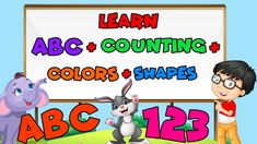 Colors And Shapes For Toddlers 2 Year Olds, Kids Board, Color Shapes, Kids Learning, Family Guy, Fictional Characters, Fantasy Characters, Griffins