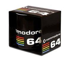 Official Commodore 64 80s Logo Mug