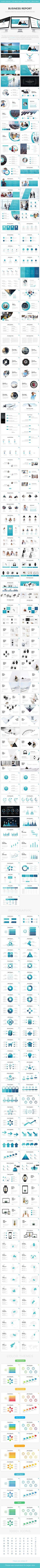 Business Anual Report Google Slide Template 2017 - Google Slides Presentation Templates