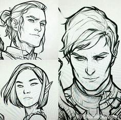 Cassian, Amren and Rhysand