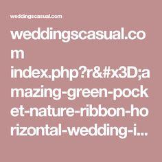 weddingscasual.com index.php?r=amazing-green-pocket-nature-ribbon-horizontal-wedding-invitations-100-pcs-lot-w210009.html