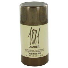 1881 Amber by Nino Cerruti Deodorant Stick 2.5 oz Men