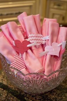 Hosting a dinner? Party with a purpose? Easy-to-make napkin rings - great touch to bring the campaign to life at home, at the table.