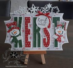 Marianne Design, Advent Calendar, Christmas Cards, Scrapbook, Letters, Holiday Decor, Inspiration, Mice, Winter