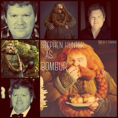 Stephen Hunter as Bombur