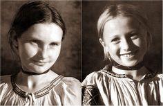 Dievky z Polomky, Slovakia - autor Karol Plicka Heart Of Europe, Big Country, In The Heart, Folk Art, History, Recipes, Beautiful, Author, Lens